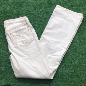 NyDJ not your daughters jeans 6 white bootleg USA